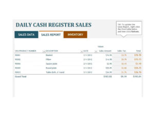 45 Sales Report Templates [Daily, Weekly, Monthly Salesman inside Daily Sales Report Template Excel Free