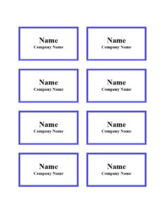 47 Free Name Tag + Badge Templates ᐅ Template Lab with Visitor Badge Template Word