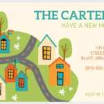 49 Free Change Of Address Cards (Moving Announcements) For Moving Home Cards Template