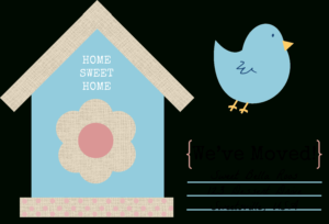 49 Free Change Of Address Cards (Moving Announcements) in Moving Home Cards Template