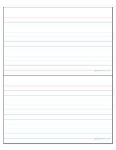 4×6 Note Cards | Brainmaxx with 4X6 Note Card Template