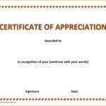 5+ Donation Award Certificate Template | Instinctual Within Donation Certificate Template