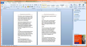 5+ Free Booklet Templates For Word | Andrew Gunsberg for Booklet Template Microsoft Word 2007