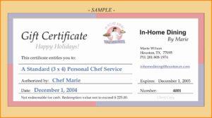 5+ Funny Gift Certificate Wording | Quick Askips regarding Dinner Certificate Template Free