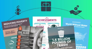 5 Must-Have Nonprofit Infographic Templates To Supercharge for Nonprofit Annual Report Template