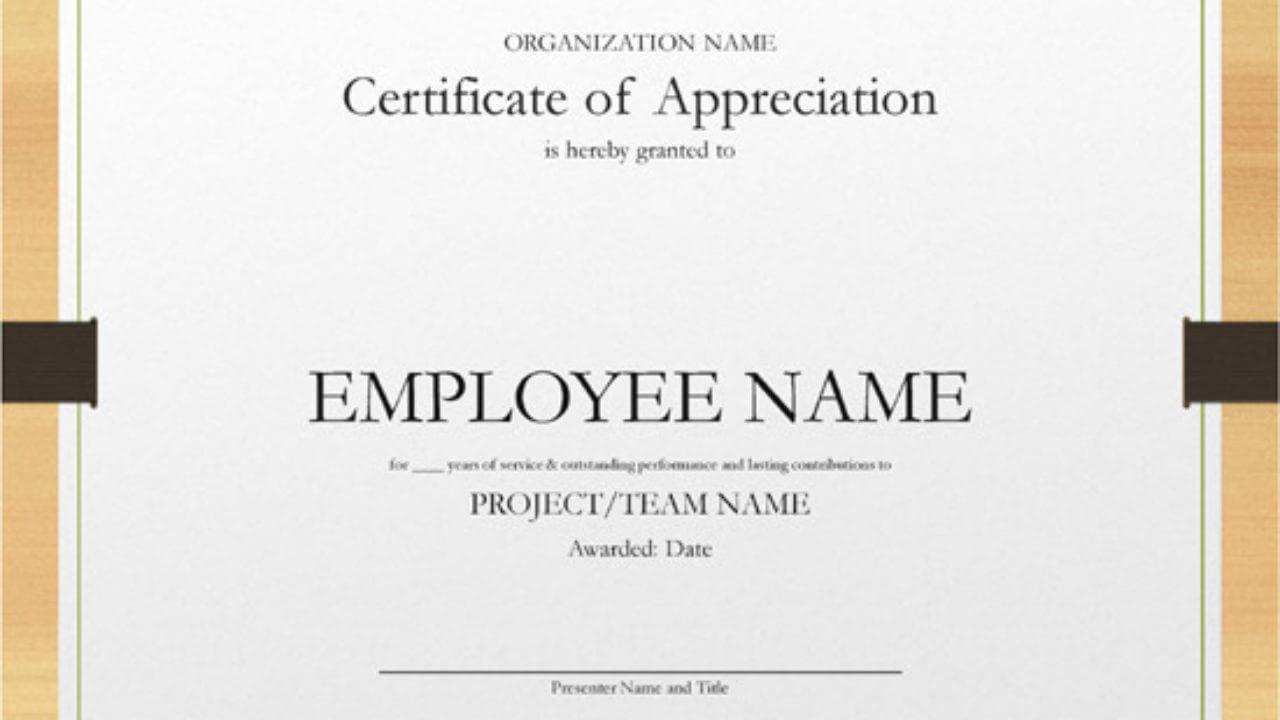 long service certificate template sample - Cicim With Regard To Long Service Certificate Template Sample