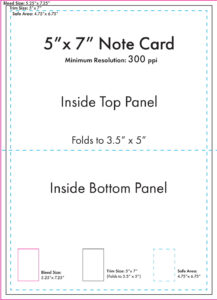 "5"" X 7"" Note Card Template – U.s. Press for 3 X 5 Index Card Template"