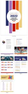 50+ Customizable Annual Report Design Templates, Examples pertaining to Illustrator Report Templates