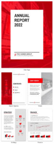 50+ Customizable Annual Report Design Templates, Examples throughout Annual Review Report Template