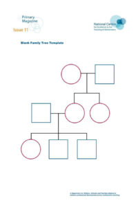 50+ Free Family Tree Templates (Word, Excel, Pdf) ᐅ intended for Blank Tree Diagram Template