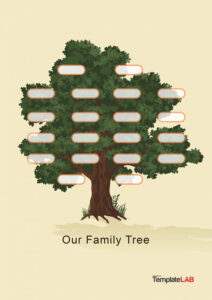 50+ Free Family Tree Templates (Word, Excel, Pdf) ᐅ pertaining to 3 Generation Family Tree Template Word