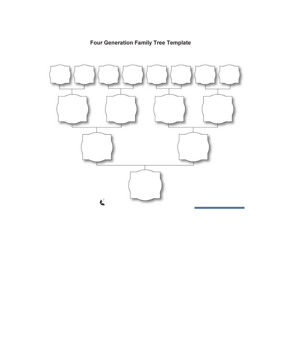 50+ Free Family Tree Templates (Word, Excel, Pdf) ᐅ Pertaining To Blank Family Tree Template 3 Generations