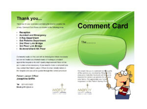 50 Printable Comment Card & Feedback Form Templates ᐅ for Survey Card Template