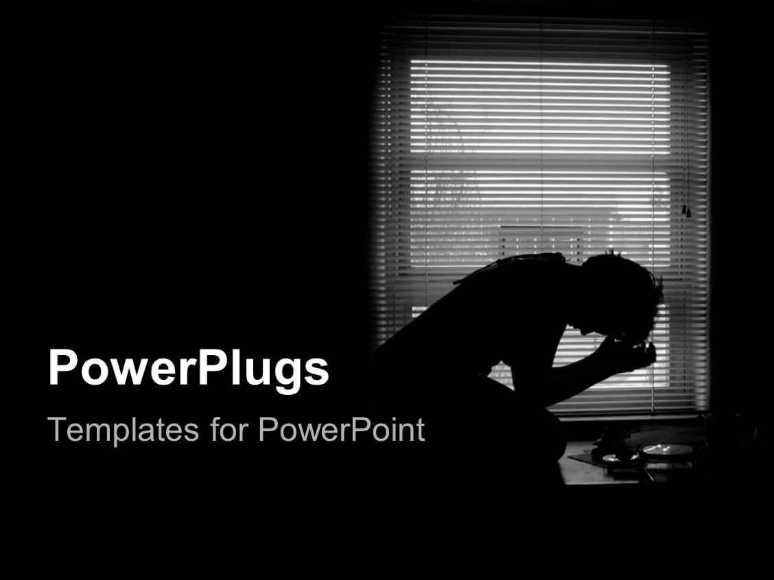 5000+ Depression Powerpoint Templates W/ Depression Themed With Regard To Depression Powerpoint Template