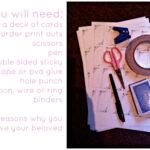 52 Reasons Why I Love You {Diy} – Beth Mac Designs For 52 Reasons Why I Love You Cards Templates