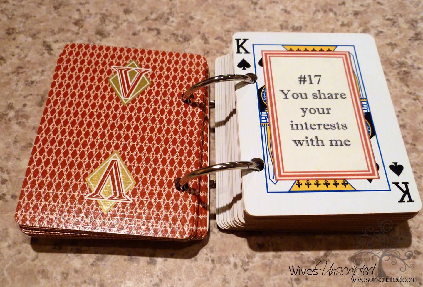 52 Things I Love About You Craft   Wivesunscripted Pertaining To 52 Things I Love About You Cards Template