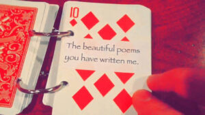52 Things I Love About You in 52 Things I Love About You Deck Of Cards Template