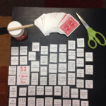 """52 Things I Love About You"""" Make A Table On Microsoft Word Inside 52 Things I Love About You Cards Template"""