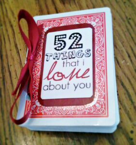 52 Things I Love About You – Mibba throughout 52 Things I Love About You Deck Of Cards Template