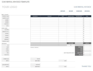 55 Free Invoice Templates | Smartsheet inside Web Design Invoice Template Word