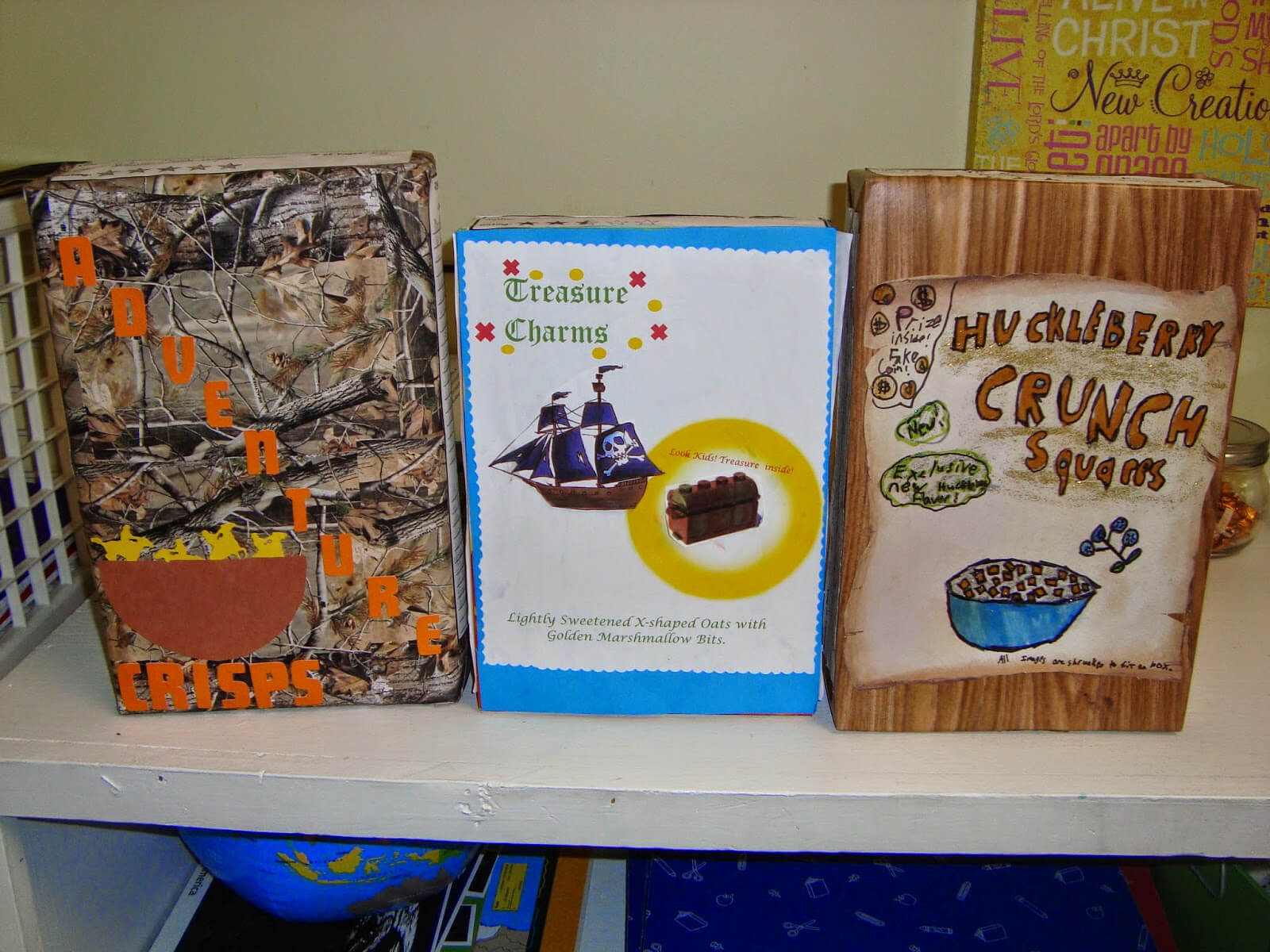5Th And Fabulous: Cereal Box Book Reports 2014 Throughout Cereal Box Book Report Template