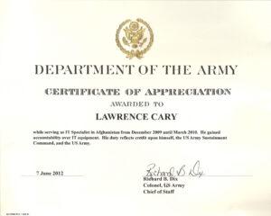 6+ Army Appreciation Certificate Templates – Pdf, Docx regarding Running Certificates Templates Free