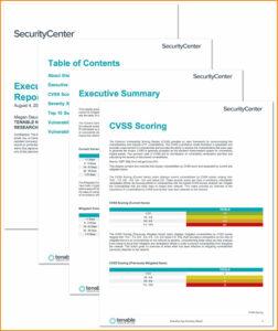 6+ Executive Report Template   Mael Modern Decor pertaining to Executive Summary Report Template
