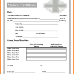 6+ Fake Medical Certificate | Lbl Home Defense Products within Fake Medical Certificate Template Download