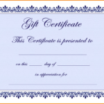 6+ Free Gift Certificate Templates For Word 2007 | Quick Askips With Free Certificate Templates For Word 2007