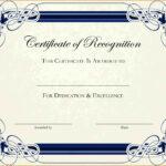 6+ Free Printable Certificate Border Templates | Sample Of regarding Free Printable Certificate Border Templates