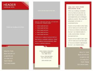 6 Panel Brochure Template Google Docs – Locksmithcovington with regard to 6 Panel Brochure Template