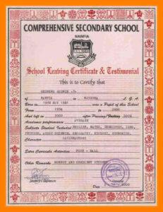 6+ School Leaving Certificate Format | New Looks Wellness with Leaving Certificate Template