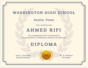 60+ Free High School Diploma Template – Printable Certificates!! regarding Free Printable Graduation Certificate Templates