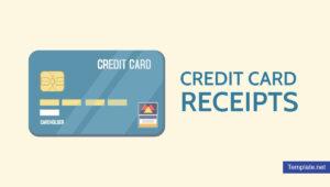 7+ Credit Card Receipt Templates – Pdf | Free & Premium inside Credit Card Receipt Template
