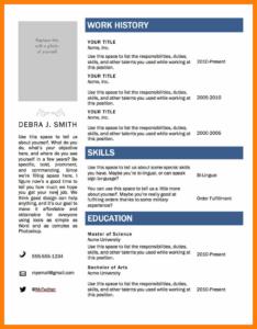 7+ Cv Templates Word 2007 | Lobo Development within Resume Templates Word 2007