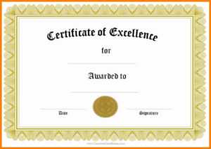 7+ Download Blank Certificates | This Is Charlietrotter for Walking Certificate Templates