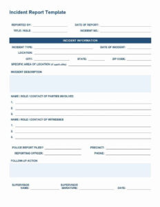 7+ Police Report Templates In Word Pdf – Free Formats Excel Word In Incident Summary Report Template
