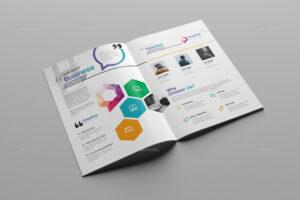 76+ Premium & Free Business Brochure Templates Psd To in Single Page Brochure Templates Psd