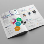 76+ Premium & Free Business Brochure Templates Psd To With Two Fold Brochure Template Psd