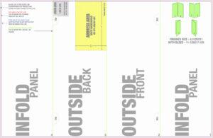 8.5 X 14 Brochure Template Unique 4 Panel 14 X 8 5 Accordion regarding Brochure 4 Fold Template