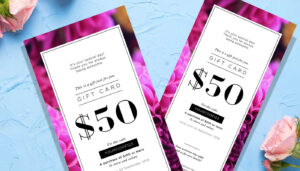 8 Amazing Gift Certificate Templates For Every Business with Pink Gift Certificate Template