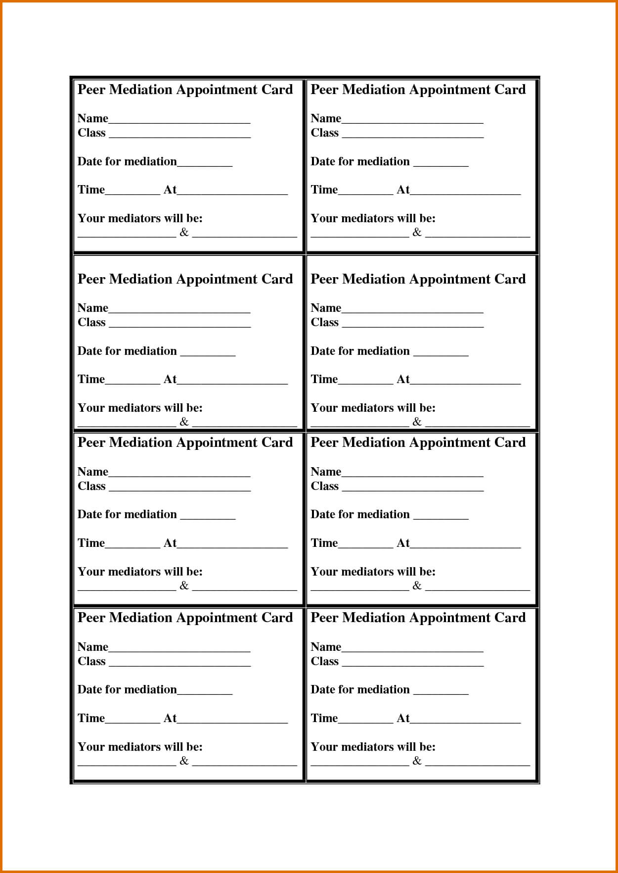8 Appointment Card Templatereference Letters Words Throughout Dentist Appointment Card Template