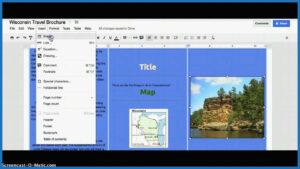 83 Best Images Of 6 Panel Brochure Template Google Docs pertaining to Brochure Template Google Drive