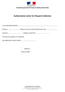 9+ Authorization Letter To Claim Examples | Examples pertaining to Certificate Of Authorization Template