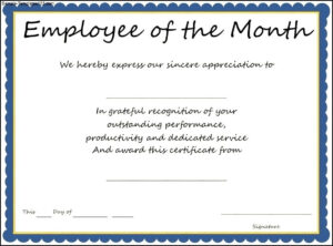 9+ Employee Recognition Certificate Templates Free | This Is with regard to Employee Of The Year Certificate Template Free