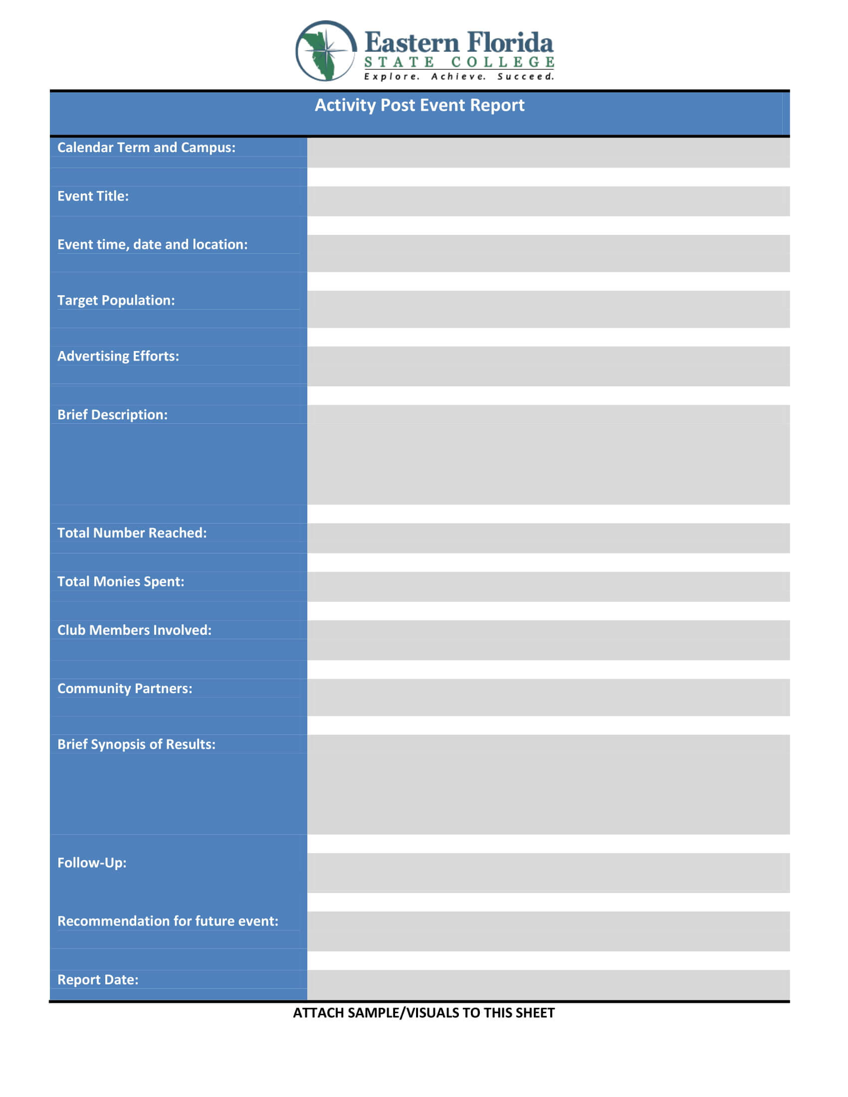 9+ Event Report - Pdf, Docs, Word, Pages   Examples In After Event Report Template
