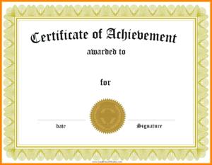 9+ Graduation Certificate Sample   Management-On-Call inside 5Th Grade Graduation Certificate Template