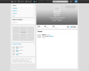 9 Images Of 2016 Blank Twitter Post Template | Vanscapital within Blank Twitter Profile Template
