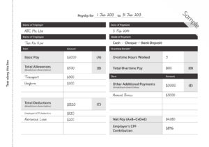9+ Payslip Templates And Examples – Pdf, Doc | Examples intended for Blank Payslip Template