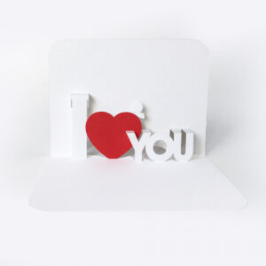 90 Deg Templates in I Love You Pop Up Card Template